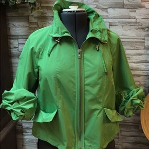 Chico's Lime tulip jacket